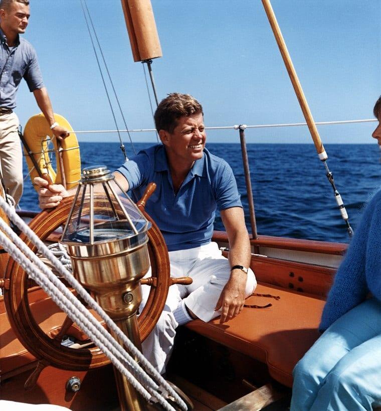 John F. Kennedy on tunnettu tyyli-ikoni.