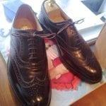 Kiillotetut kengät