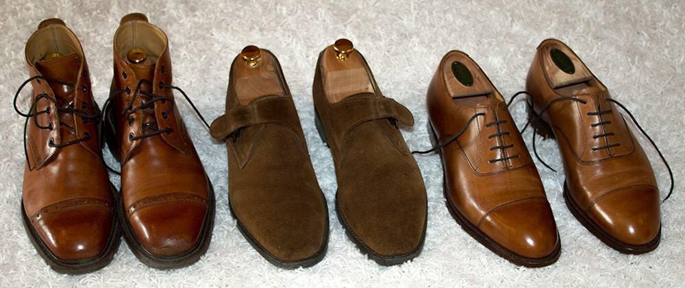 Cheaneyn, Alfred Sargentin ja Crockett & Jonesin kengät ovat olleet loistavia hankintoja.