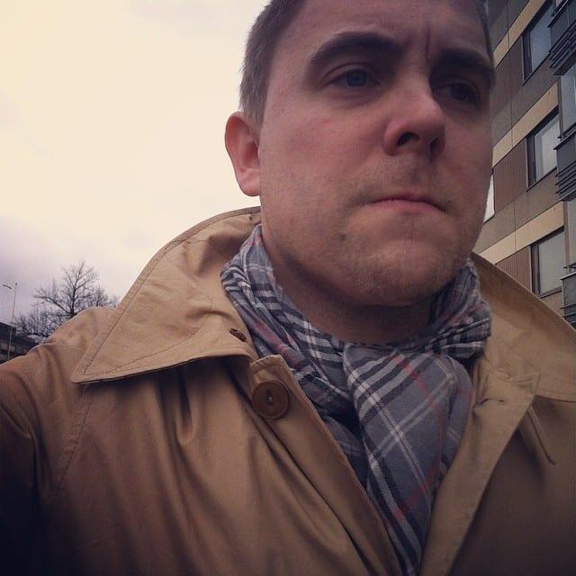 Barbour Stirrup sateisena päivänä.