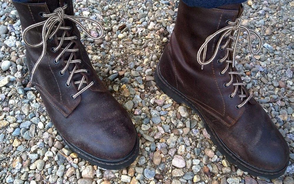 Kengät ovat valmiina käyttöön.