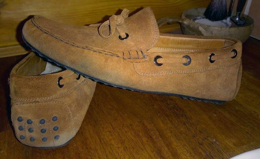Kengät olivat saaneet runtua niin maan p*rkeleesti.