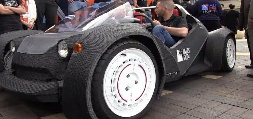 3D-tulostettu auto