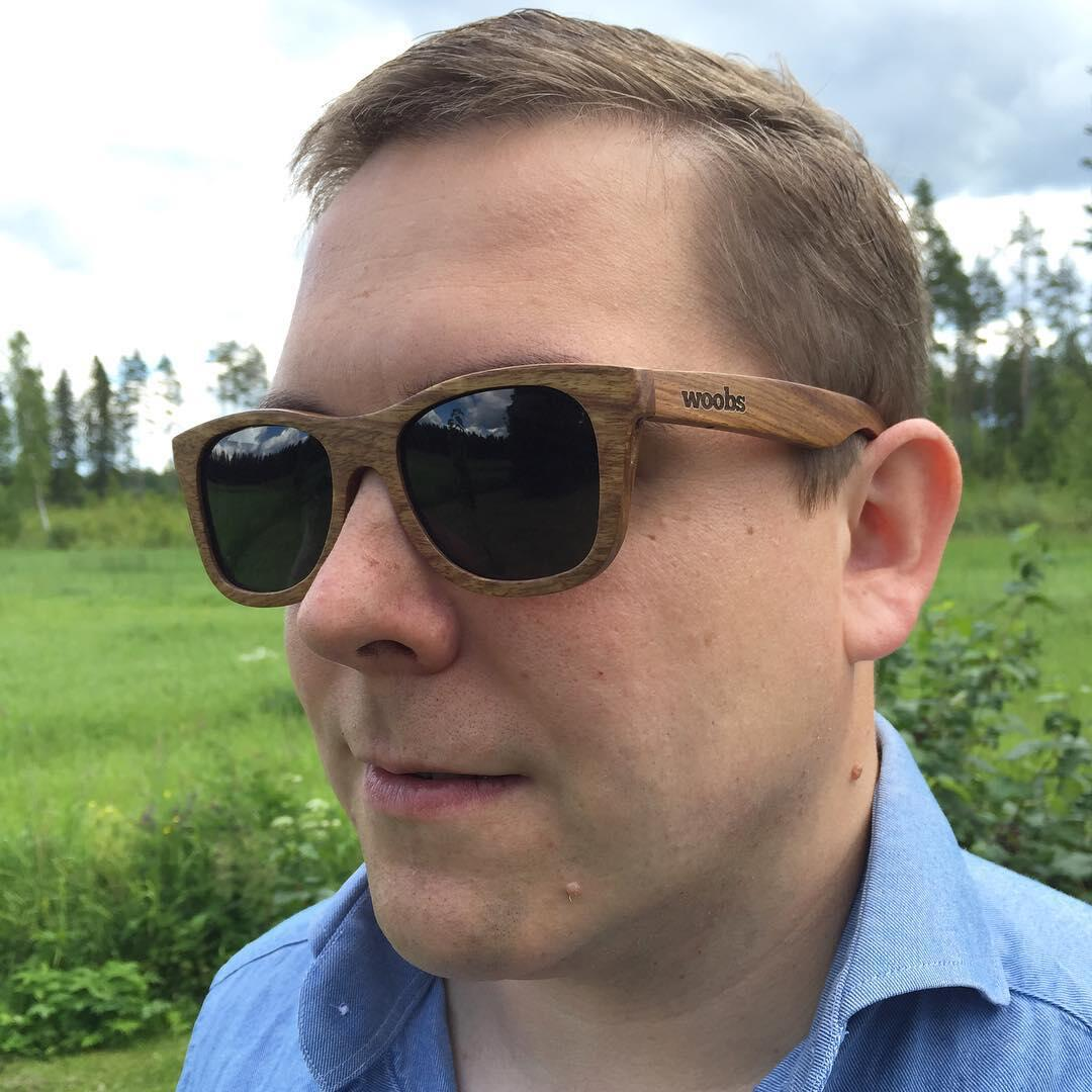 Woobs Retro -aurinkolasit ovat tyylikkäät.