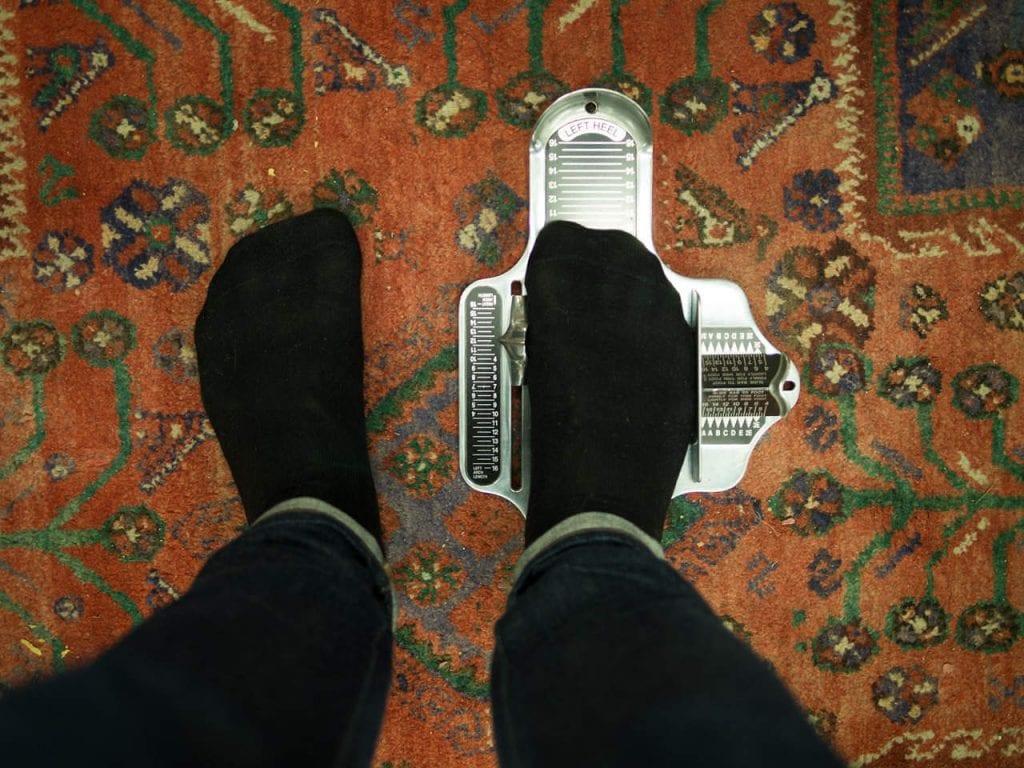 Brannock-laite kertoo sinulle oikean kengänkoon