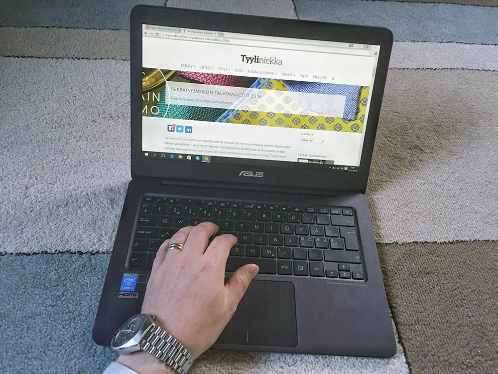 Asus ZenBook on oivallinen kevytkannettava.