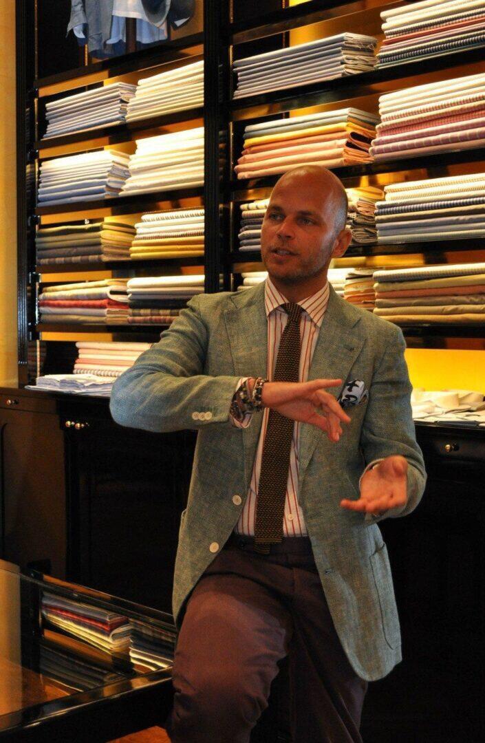 Luca Rubinacci, maestro.