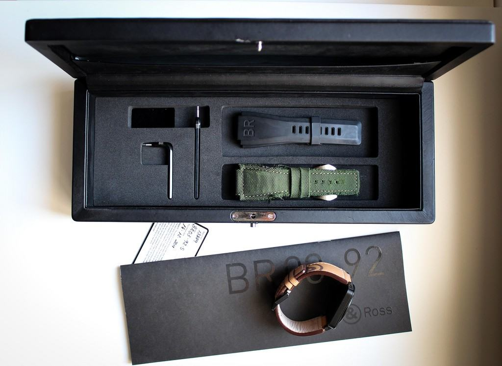 Bell & Rossin tuotepaketti, ns. full set.