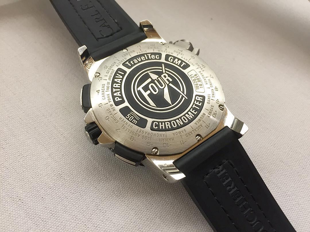 Carl F. Bucherer Patrani TravelTec GMT takaa.