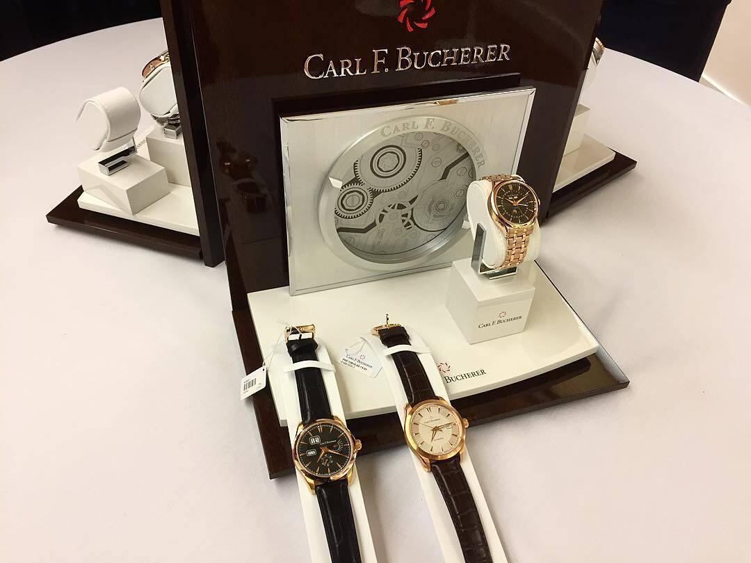 Carl-F-Bucherer-kelloja