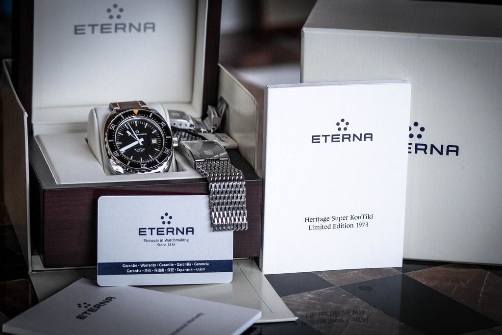 Eterna Super KonTiki Limited Edition 1973 full set.
