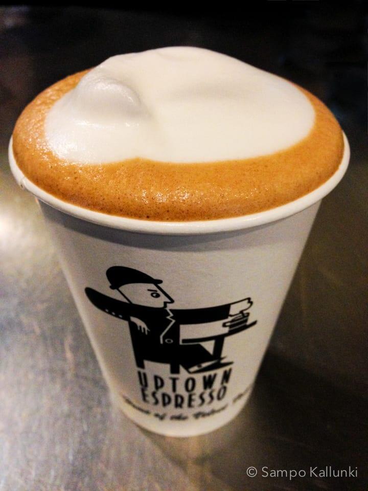 Upton Espresson upea caffé latte.