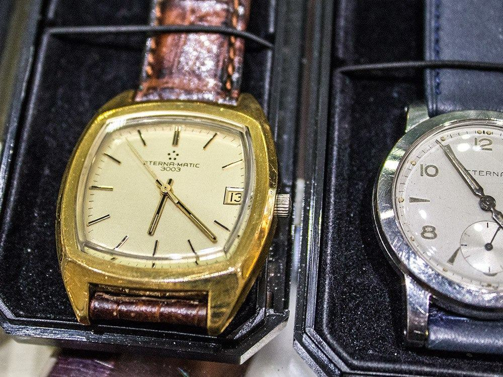 Vintage-Eternat ovat ajattoman tyylikkäitä kelloja.