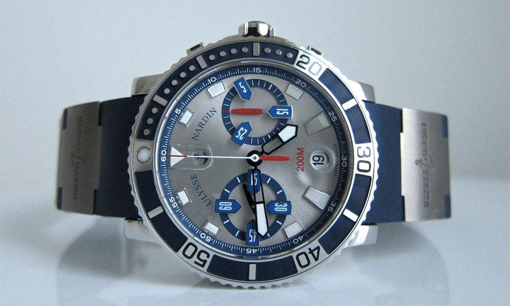 Kellokonttorin helmi: Ulysse Nardin Maxi Marine Chronograph