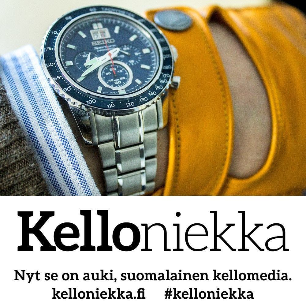 Kelloniekka on auki.