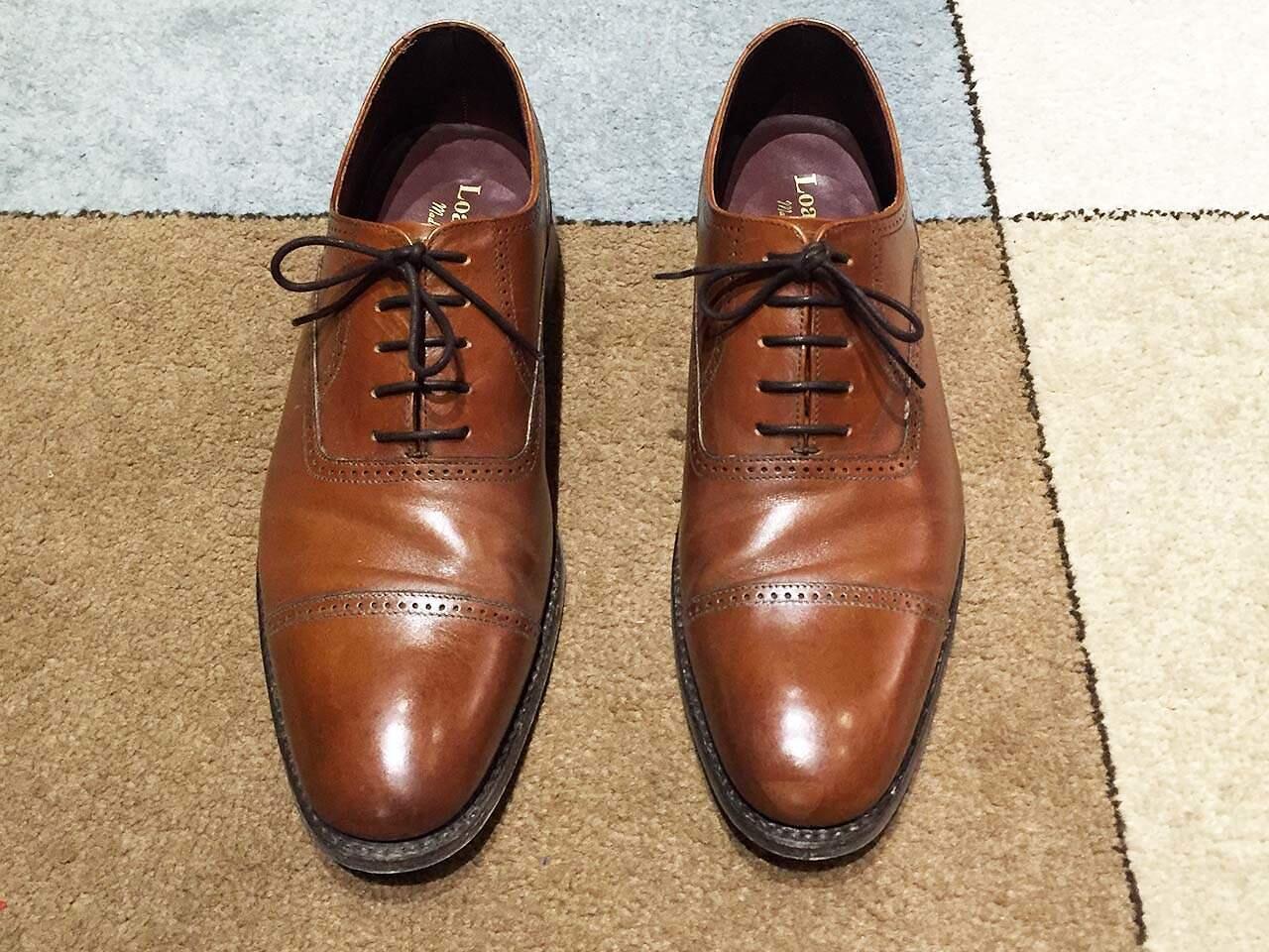 Oxford-kenkien oikeaoppinen nauhoitus.