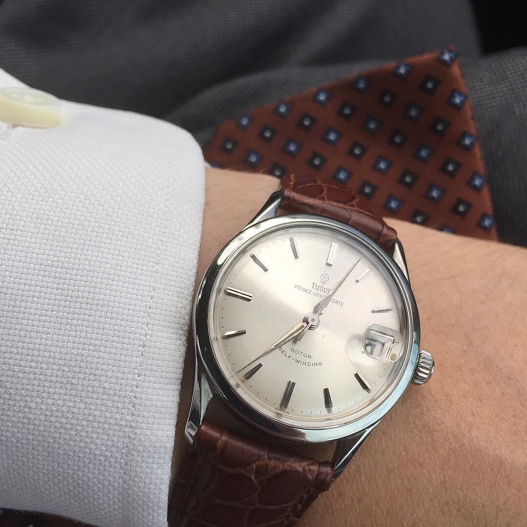 Tudor edustaa laadukasta vintagea.