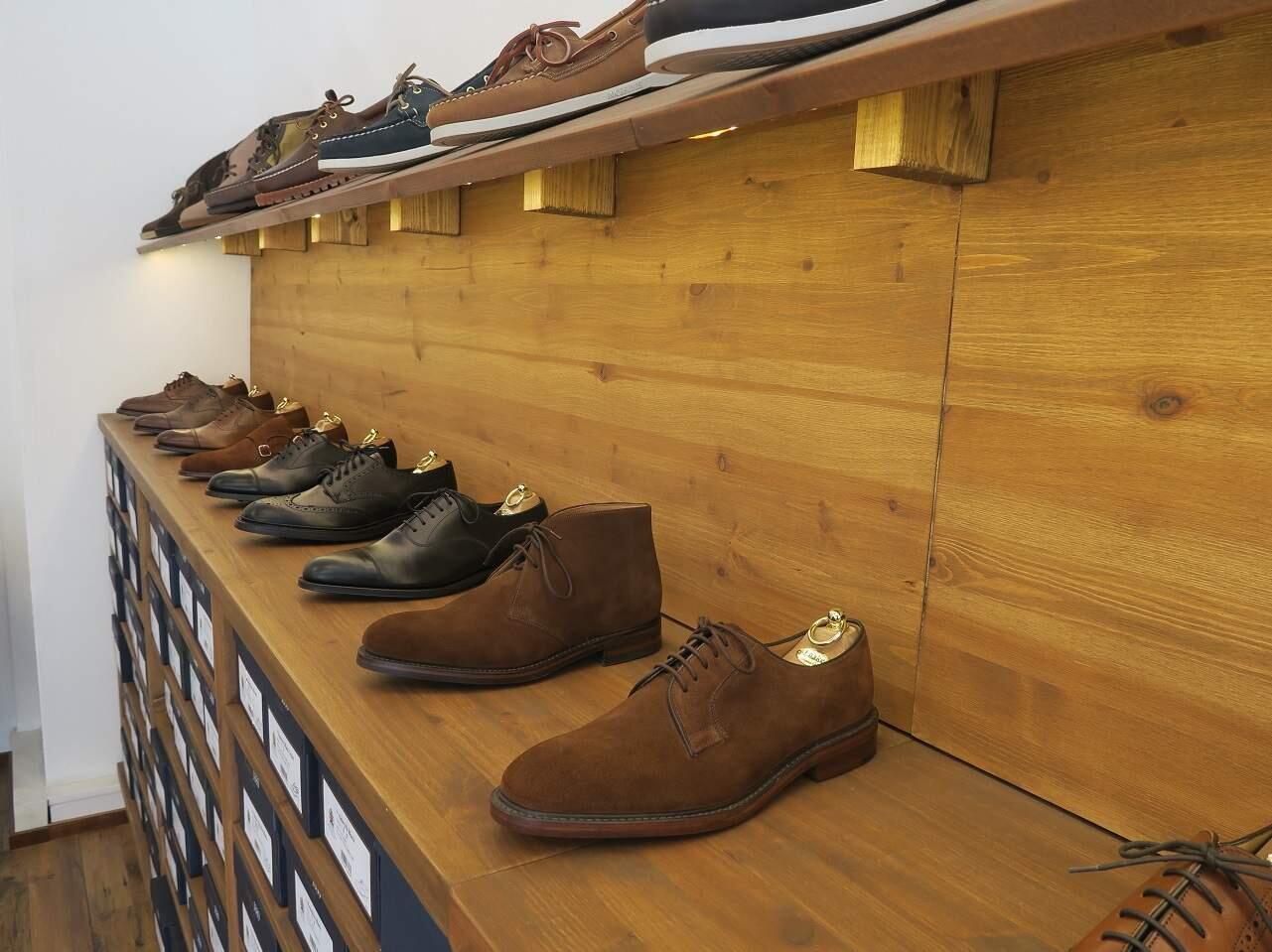 Anderssén & Kurjen kenkävalikoimaa