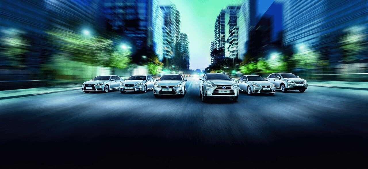 Lexus hybridimallisto