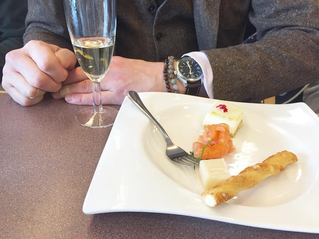 Moët & Chandonin samppanja-tasting.