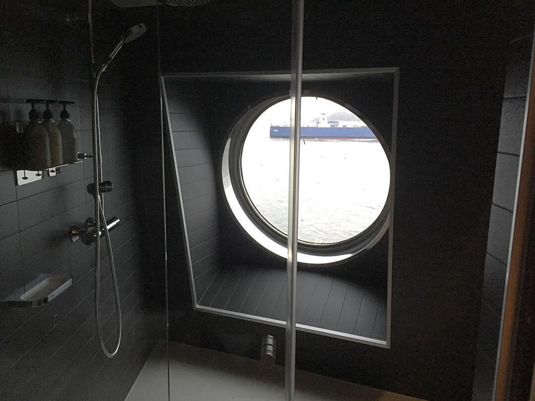 Viking Gracen sviiteissä on panostettu mm. kylpyhuoneisiin.