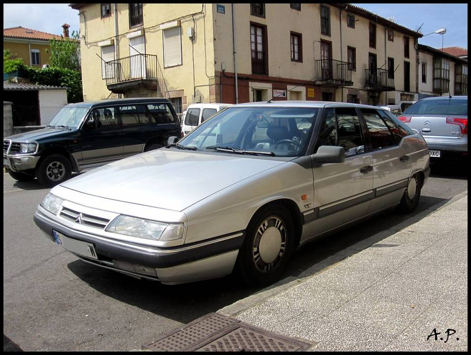 Citroen XM 3.0 V6 '90 Kuva: Wikimedia Commons