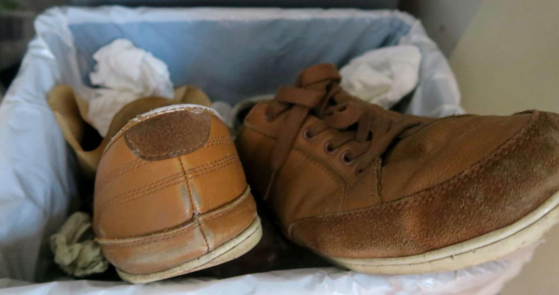 Huoltamattomien kenkien kohtalo
