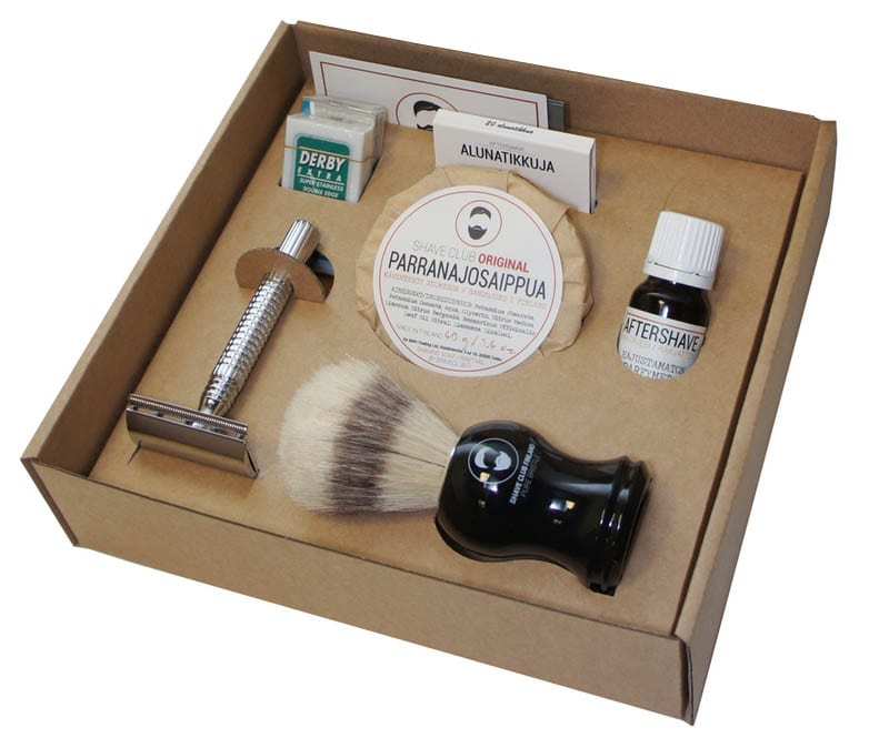 Shave Club Starter Kit -parranajosetti.