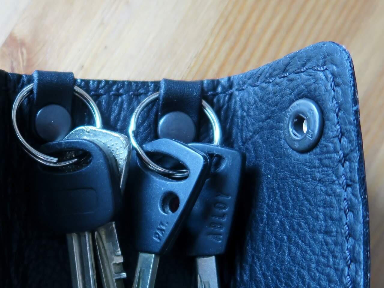 Avainkotelo säästää vaatteesi