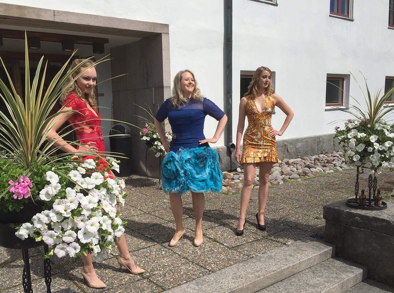 Concours d'Elegance 2016 muotinäytös
