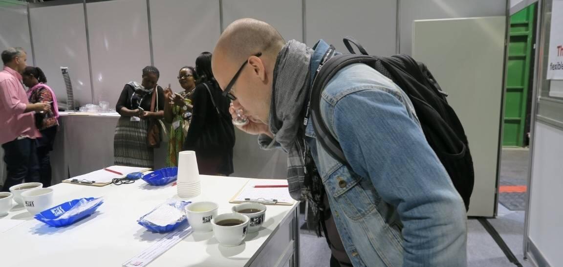 World of Coffee - Maistelemassa