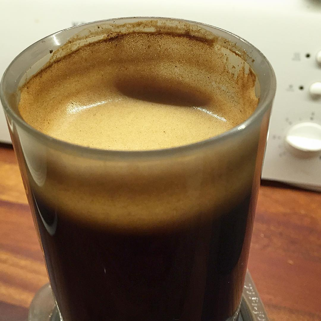 Aeropress-kahvia.