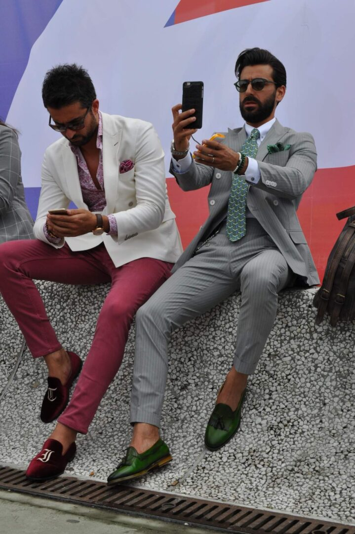 pitti-90-day-one-selfie