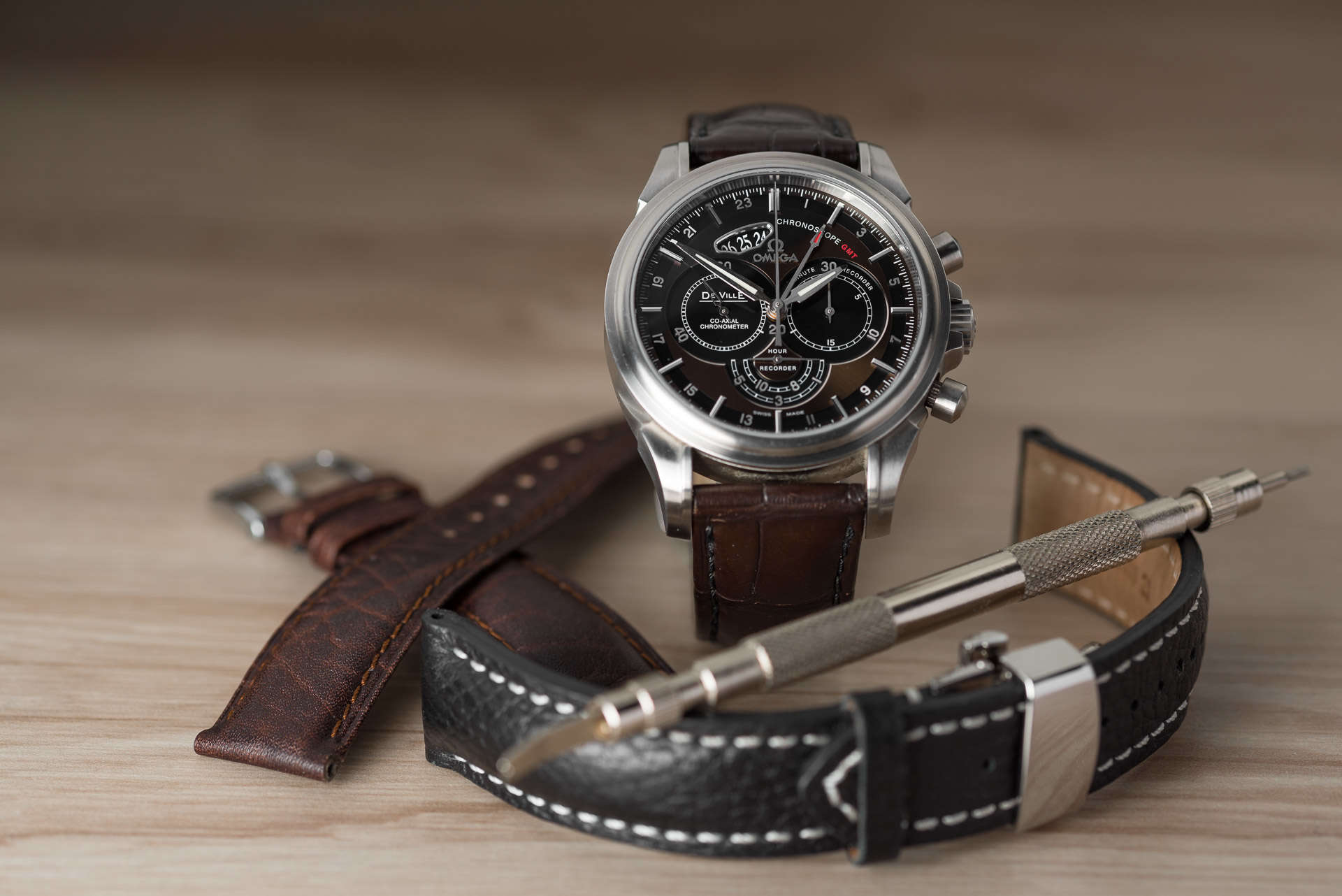 Omega De Ville Chronoscope GMT