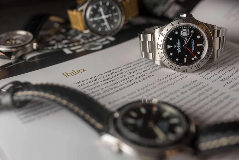 Rolex ja Kellomies.