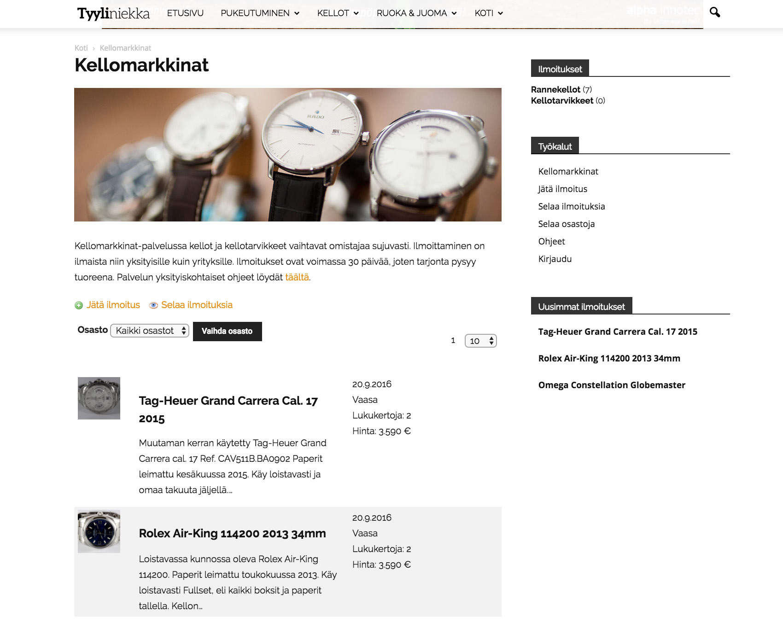 Kellomarkkinat on laadukkaiden rannekellojen ja kellotarvikkeiden ostospaikka.