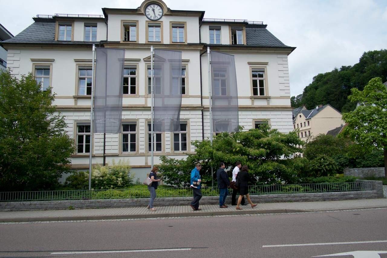 A. Lange & Söhnen päärakennus.