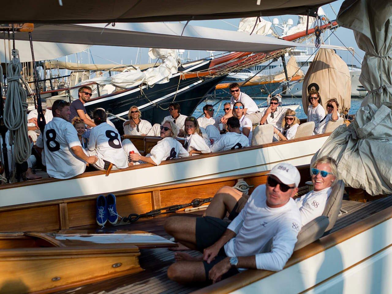 regatta purjevene sailing boat
