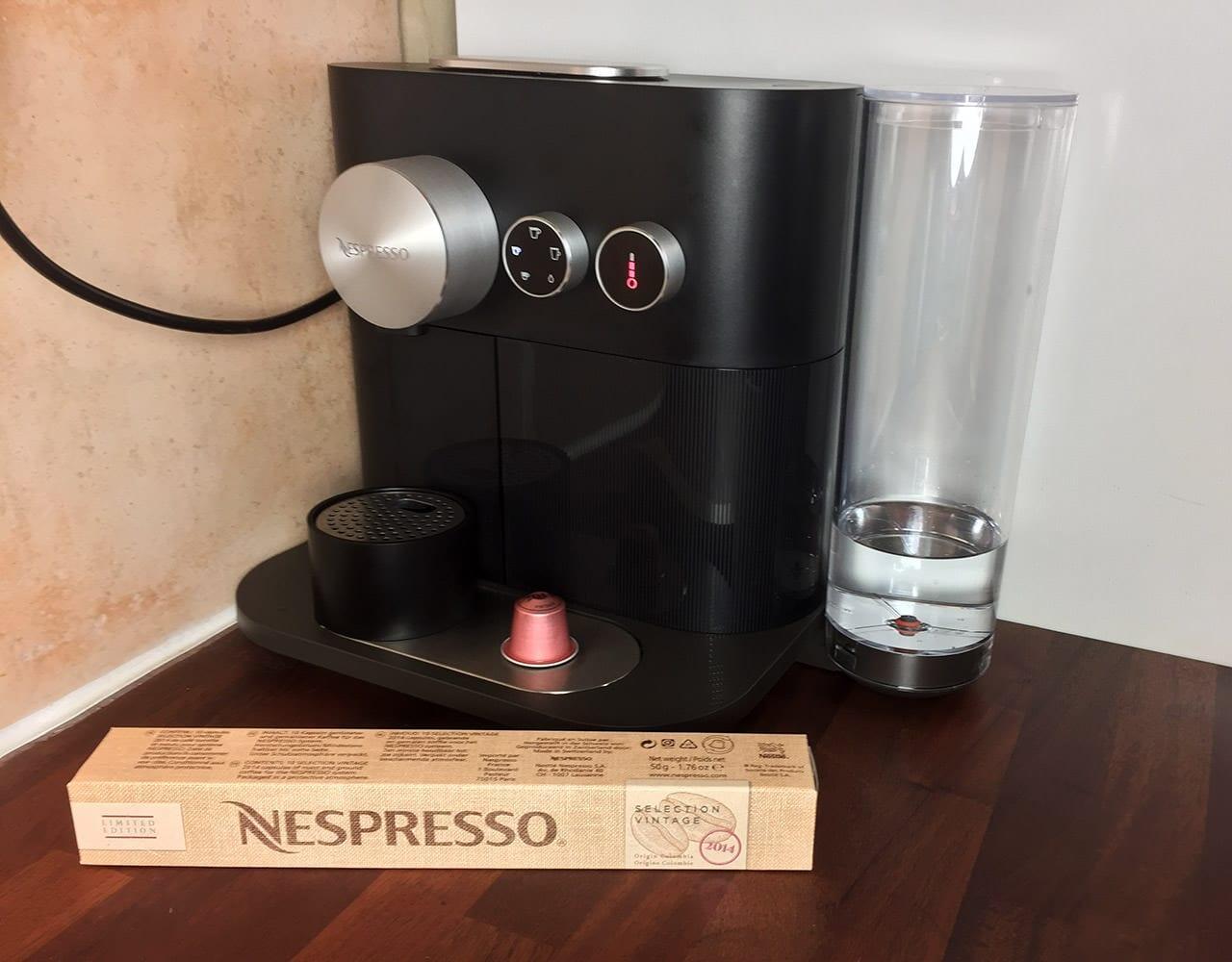 Nespresso Expert löysi paikkansa.