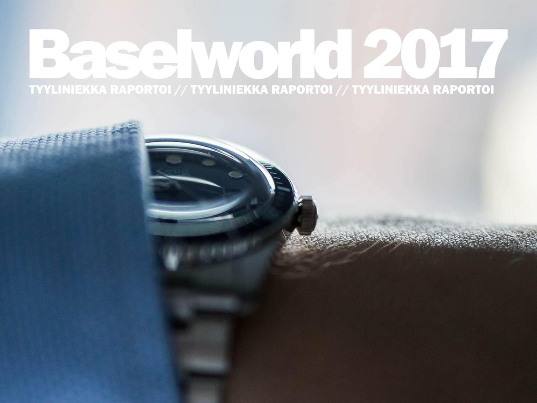 Tyyliniekka raportoi Baselworld 2017 -messuilta.