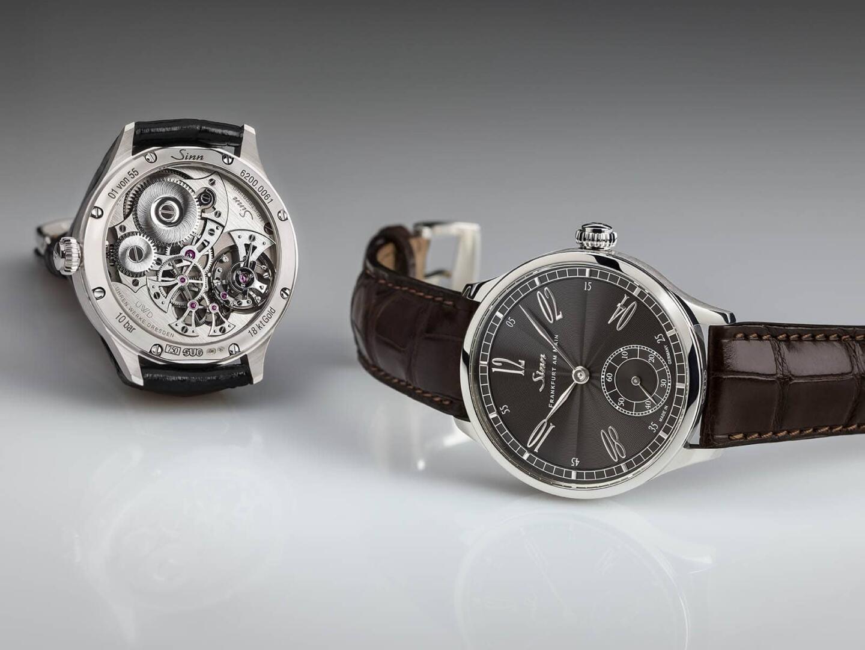 Sinn 6200 WG Meisterbund I on valmistajan upein erikoismalli, jonka kellonkuori on tehty valkokullasta. Kyseistä kelloa on tehty 55 kappaletta ja sellaisen voi tilata suoraan valmistajalta 14.500 eurolla.