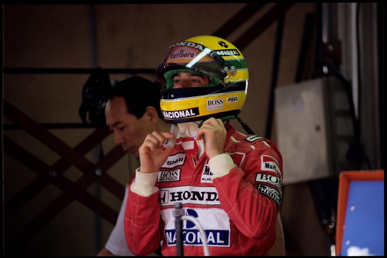 Ayrton Senna. Kuva: Norio Koike