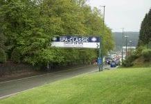 Spa-Classic 2017 sisäänkäynti