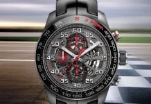 TAG Heuer Carrera Heuer-01 Senna Limited Edition 2017