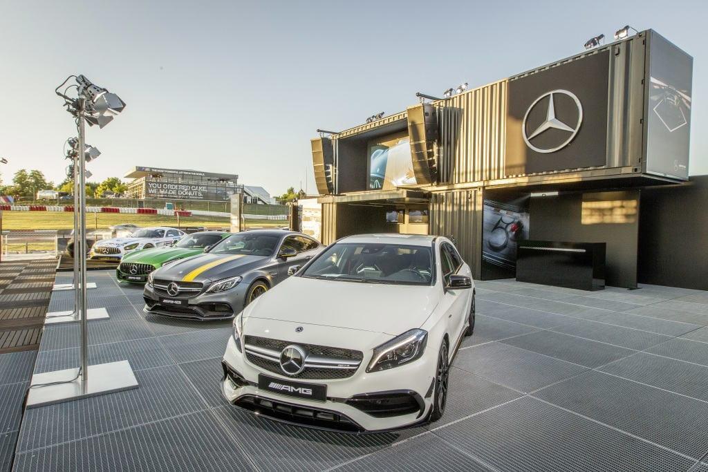 Mercedes-AMG A, C ja GT, Nürburgring.