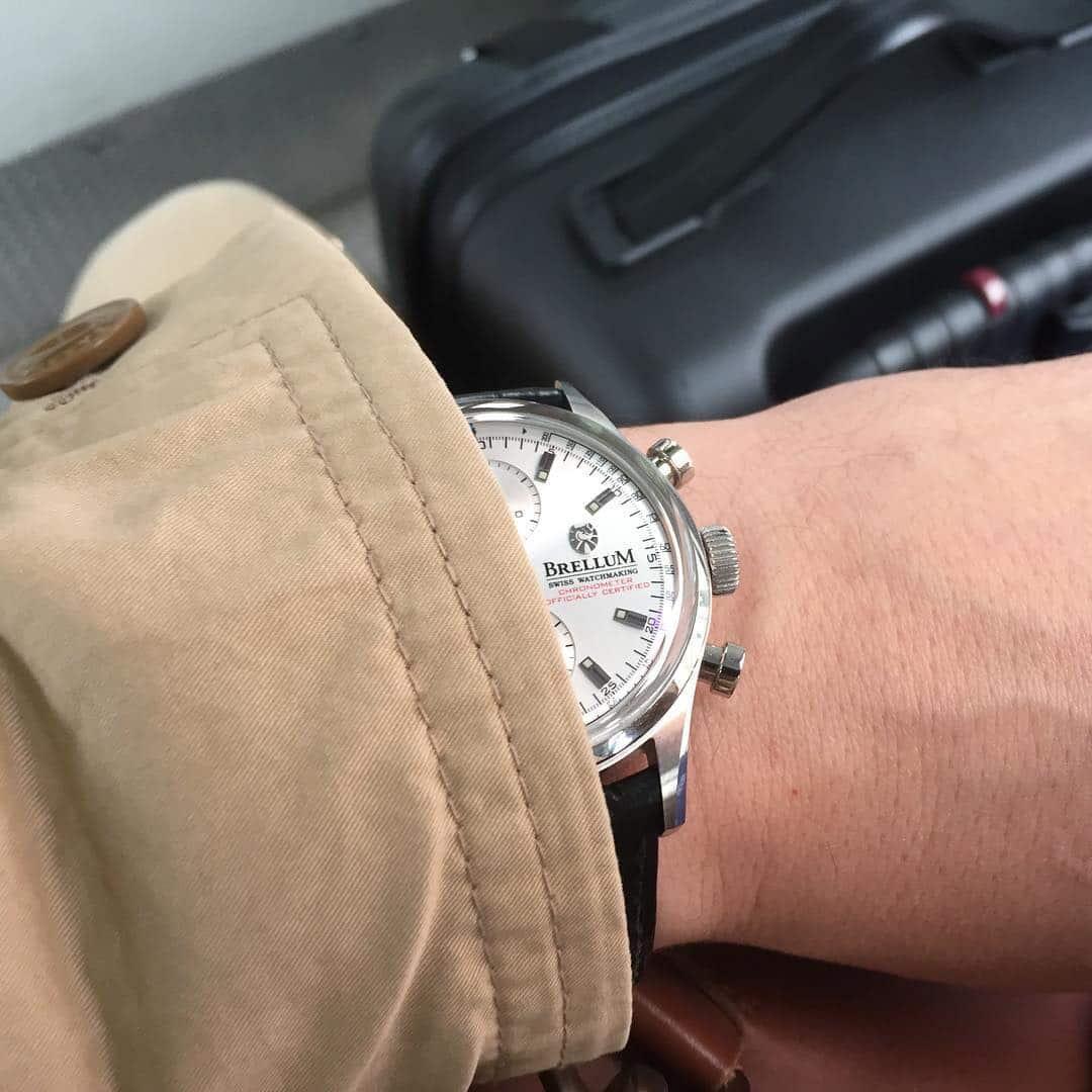Aviator sai tulikasteensa Baselworldin kellomessumatkalla.