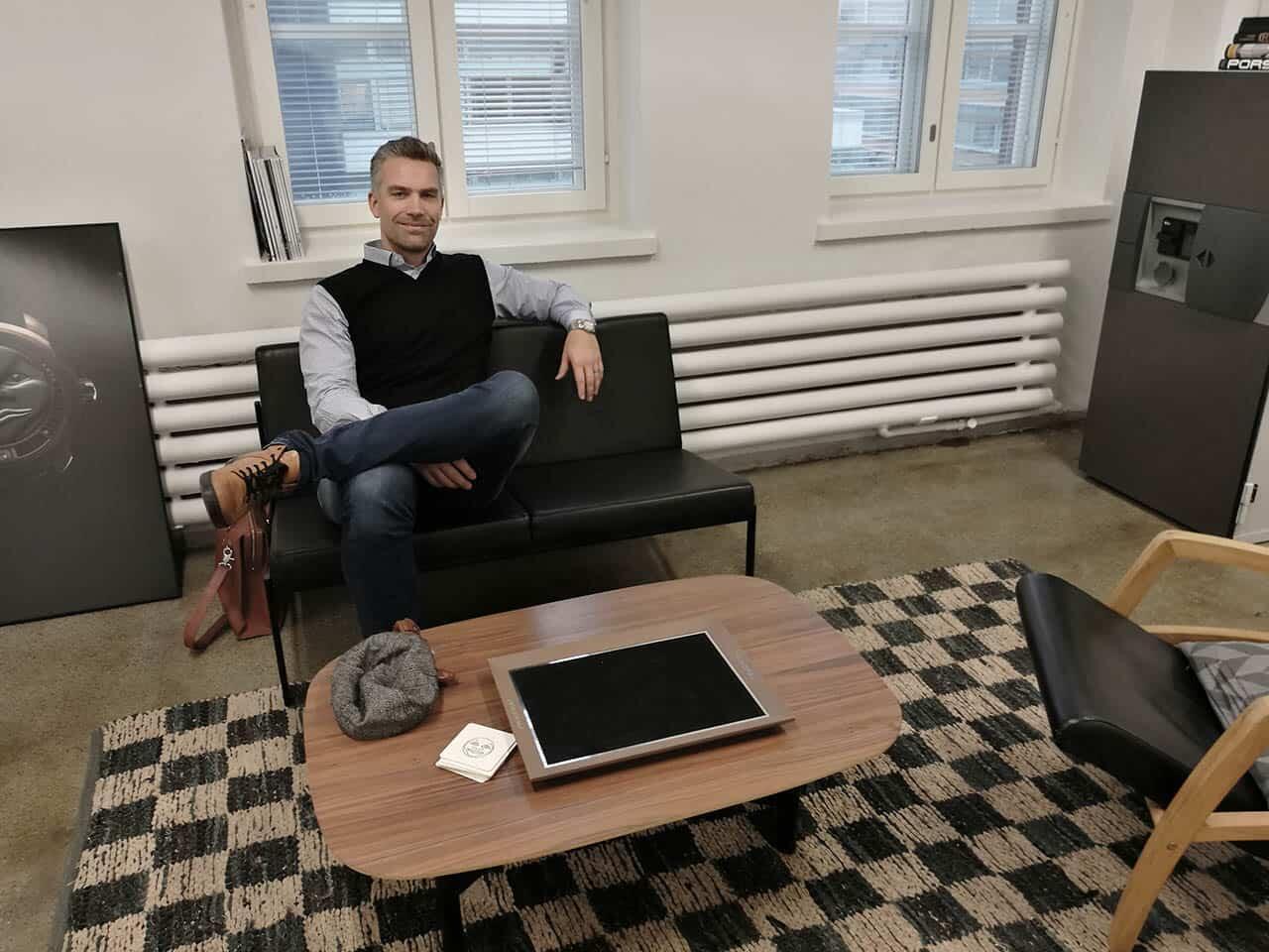 Sami Astala on Kellokonttorin yrittäjä.