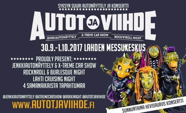 Autot ja Viihde 2017