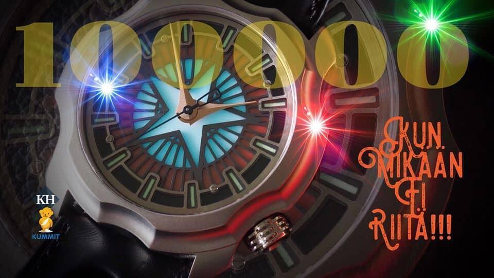 Keräyksen yksi hieno piirre on ollut kelloharrastaja Harri Kivisen upeat kuvapostaukset, joissa on buustattu keräyksen etenemistä. Kuva: Harri Kivinen