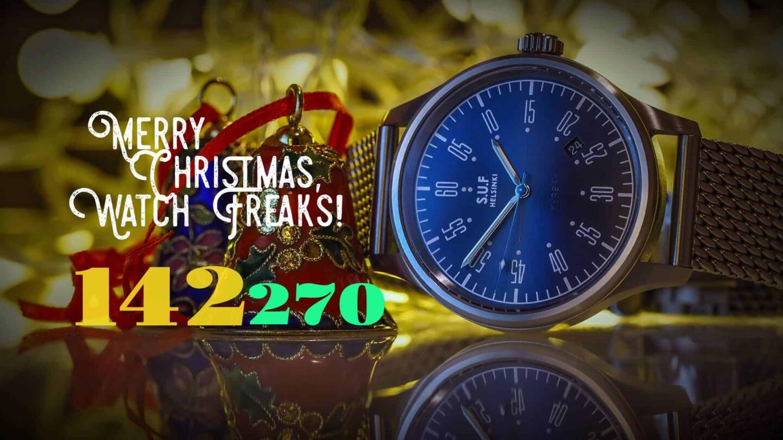 """Osa keräystä oli kelloharrastaja Harri Kivisen upeaan kuvamaailmaan perustuva """"countdown"""" keräyspotin edistymisestä."""